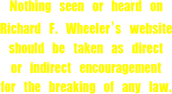 Nothing seen or heard on 